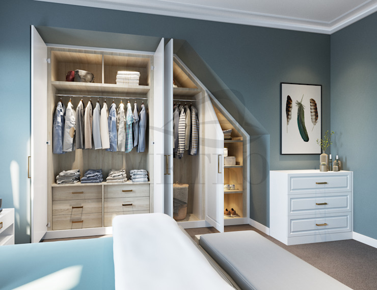 Fitted Wardrobes London: modern  by Metro Wardrobes London, Modern
