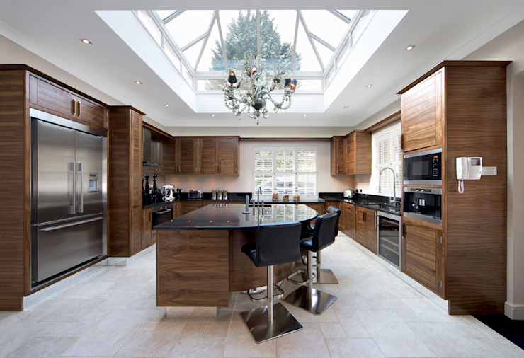 Kitchen تنفيذ Metro Wardrobes London,