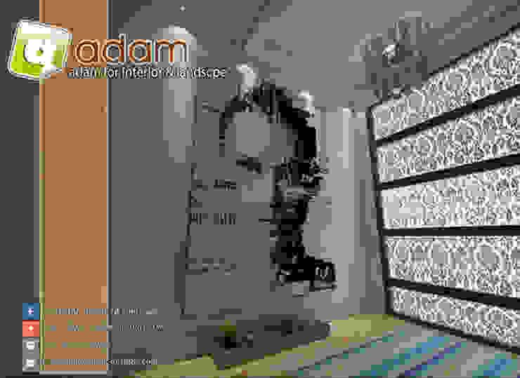 interior&redesign: متوسطي  تنفيذ ADAMfor interior&landscpe, بحر أبيض متوسط حجر