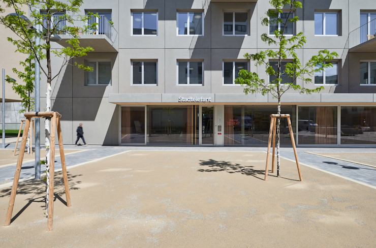 Minimalist houses by Franz&Sue Minimalist Concrete