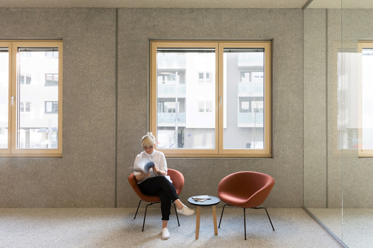 Minimalist study/office by Franz&Sue Minimalist Concrete