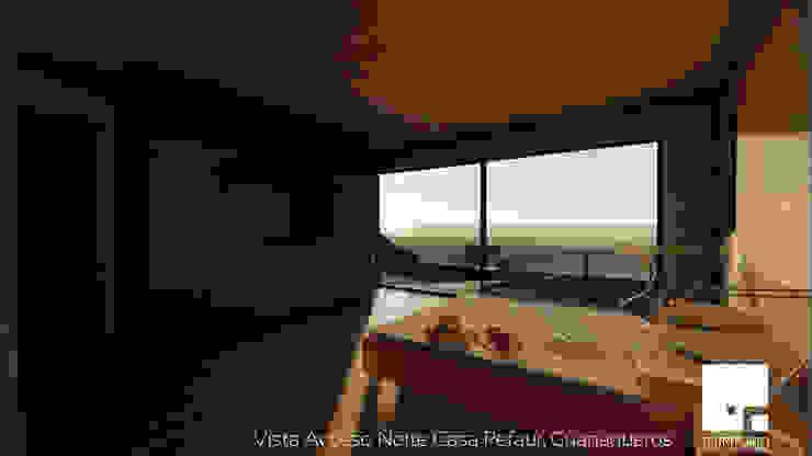 Dormitorio Dormitorios de estilo moderno de Territorio Arquitectura y Construccion - La Serena Moderno