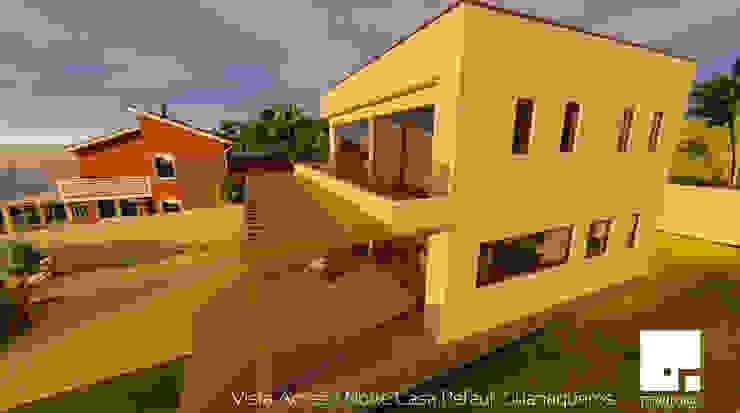 Fachada de Territorio Arquitectura y Construccion - La Serena Moderno
