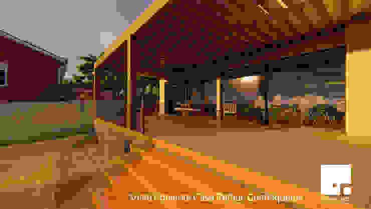 Terraza Balcones y terrazas modernos de Territorio Arquitectura y Construccion - La Serena Moderno