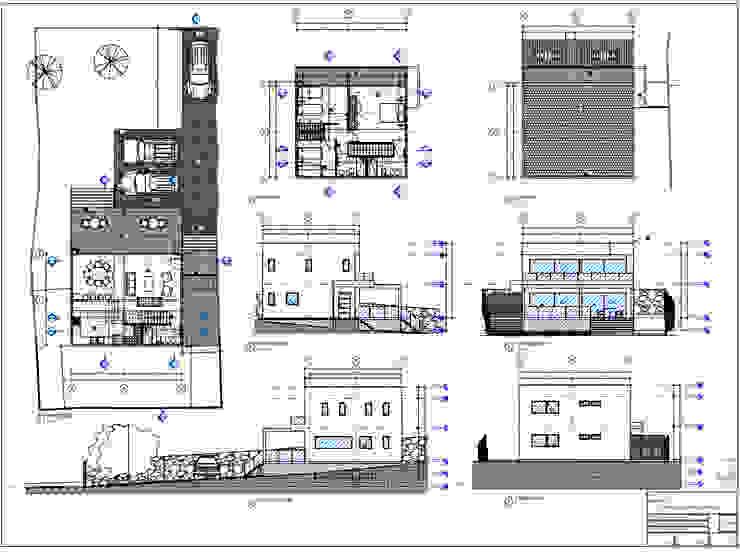 Planos Territorio Arquitectura y Construccion - La Serena