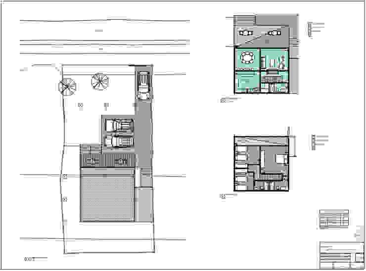 Planos de Territorio Arquitectura y Construccion - La Serena Moderno