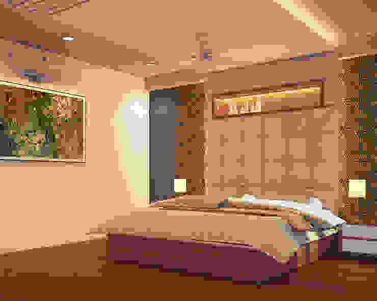 Residence for mr. Mehta Modern style bedroom by umesh prajapati designs Modern
