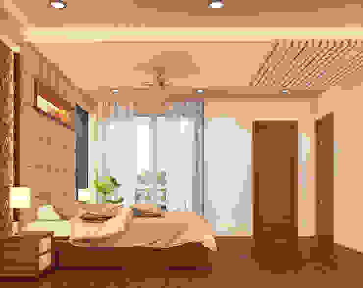 Modern style bedroom by umesh prajapati designs Modern