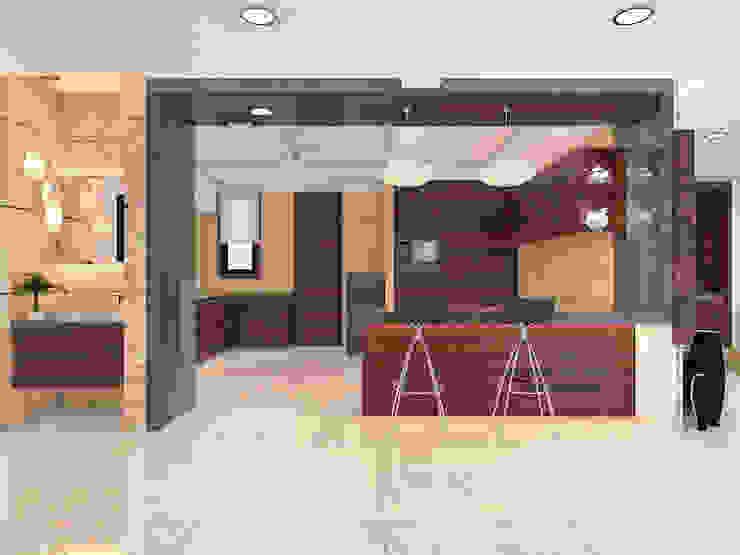 Modern dining room by umesh prajapati designs Modern