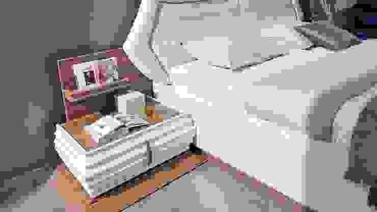 اثاث مصر BedroomBedside tables Chipboard Brown