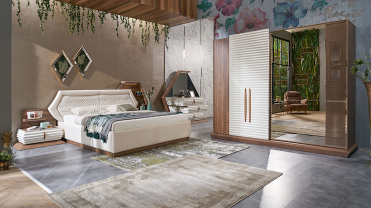 اثاث مصر BedroomWardrobes & closets Chipboard Brown
