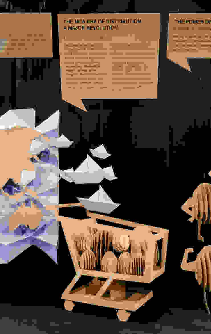 Centre d'expositions classiques par Piedra Papel Tijera Interiorismo Classique