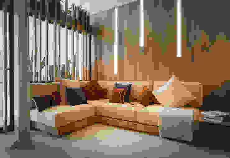Casa en Eixample: Salones de estilo  de Piedra Papel Tijera Interiorismo,