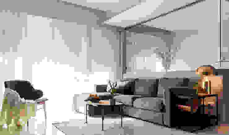 客廳 樸十設計有限公司 SIMPURE Design Living room