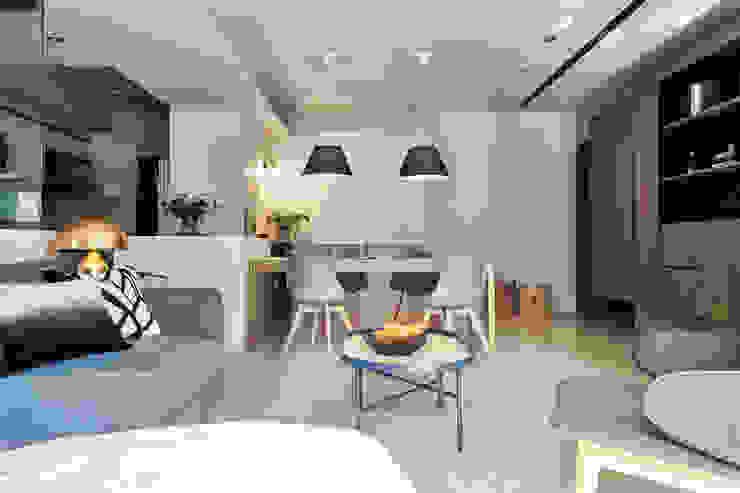 餐廳/廚房 樸十設計有限公司 SIMPURE Design Minimalist dining room