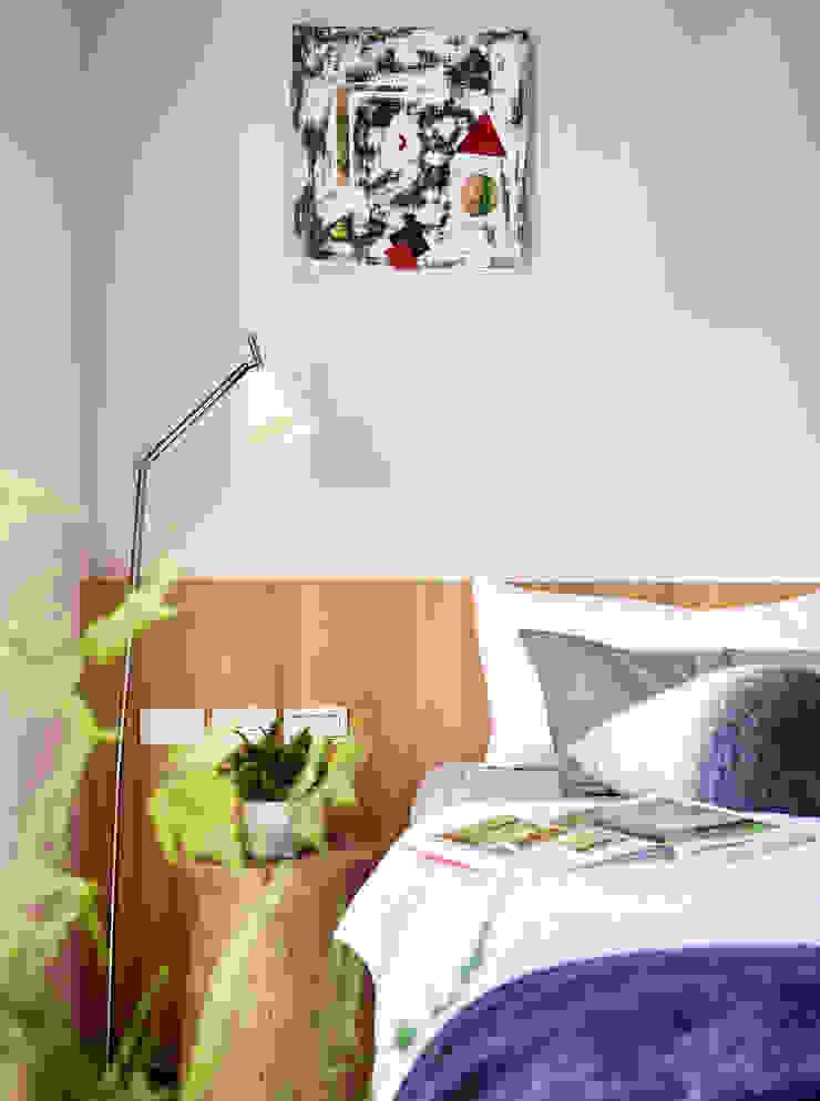 樸十設計有限公司 SIMPURE Design Camera da letto minimalista