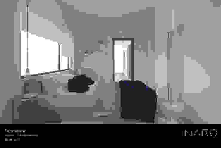 Dormitorio principal Dormitorios de estilo moderno de INARQ Espacio Moderno