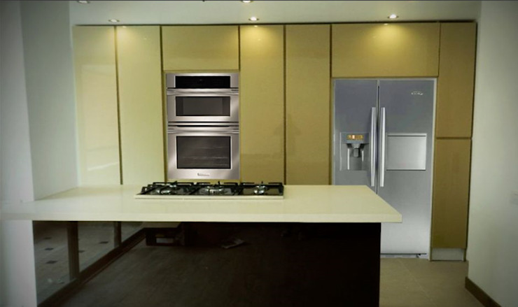 Cb arquitectura y diseño Built-in kitchens
