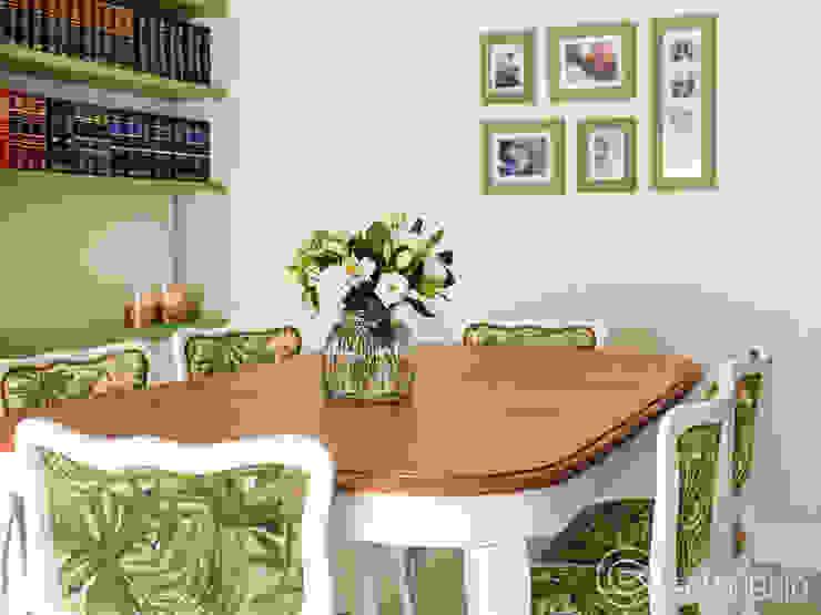 Proyecto Ardoino: Comedores de estilo  por Estudio Equilibrio,Moderno Madera Acabado en madera