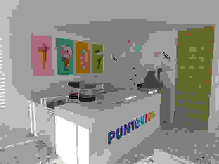 Moderne Esszimmer von Rojas Arquitectos Modern Ziegel