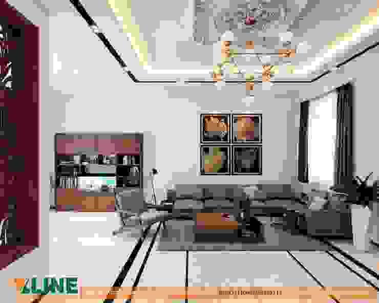 Nội thất phòng khách: hiện đại  by NỘI THẤT XLINE, Hiện đại