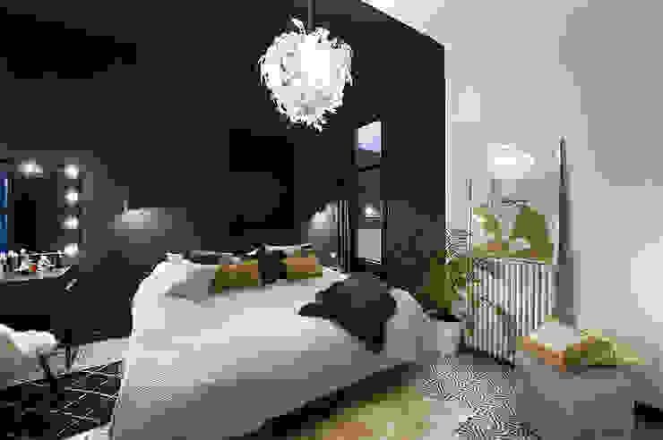La Casa Bipolar Dormitorios de estilo ecléctico de Egue y Seta Ecléctico