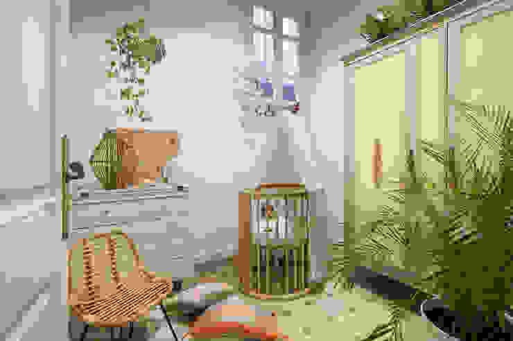 La Casa Bipolar Dormitorios infantiles de estilo ecléctico de Egue y Seta Ecléctico