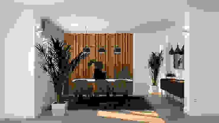 Salle à manger moderne par arQmonia estudio, Arquitectos de interior, Asturias Moderne
