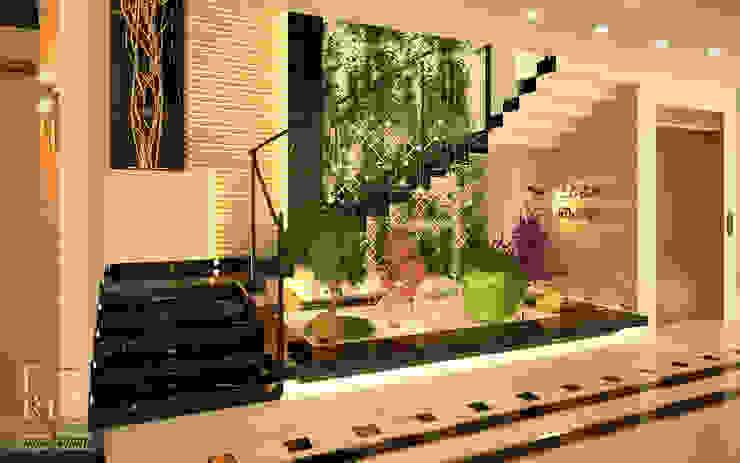 Design of Kasser el_shifa hospital stairs: حديث  تنفيذ Rania Trrad Design Studio, حداثي