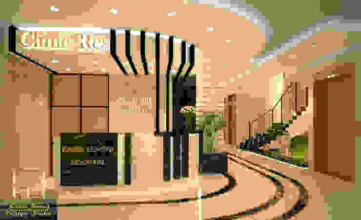 Design of Kasser el_shifa hospital reception: حديث  تنفيذ Rania Trrad Design Studio, حداثي