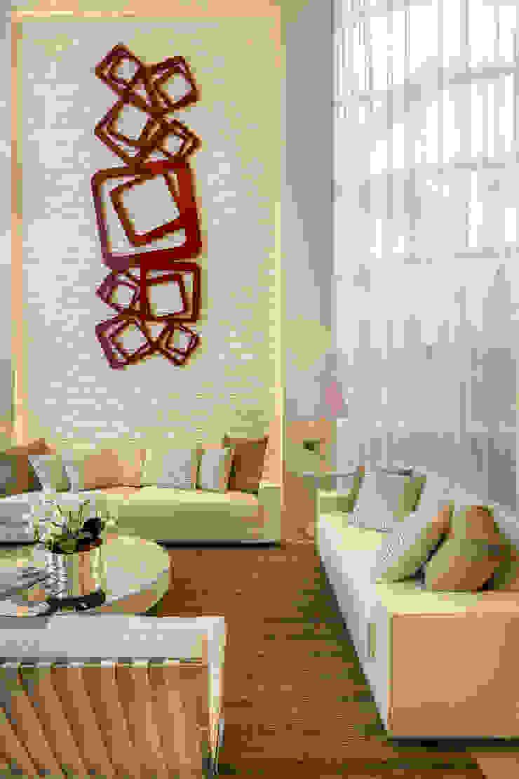 Casa Esplêndida Salas de estar modernas por Arquiteto Aquiles Nícolas Kílaris Moderno