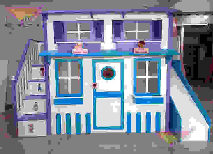 Hermosa casita de la dra. Juguetes de camas y literas infantiles kids world Moderno Derivados de madera Transparente