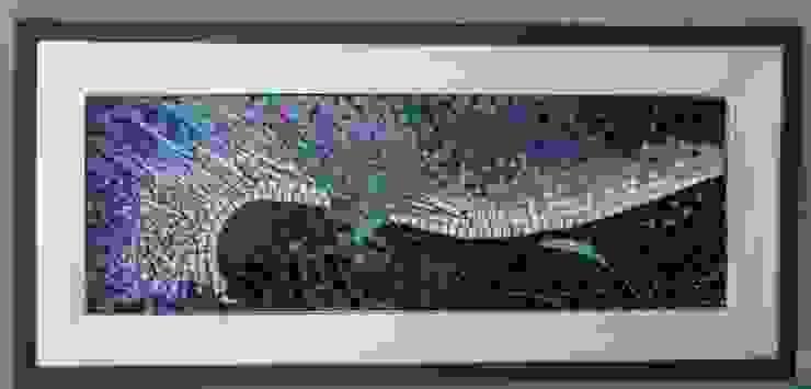 Abstracción Aurora Boreal de MKVidrio Vidrio