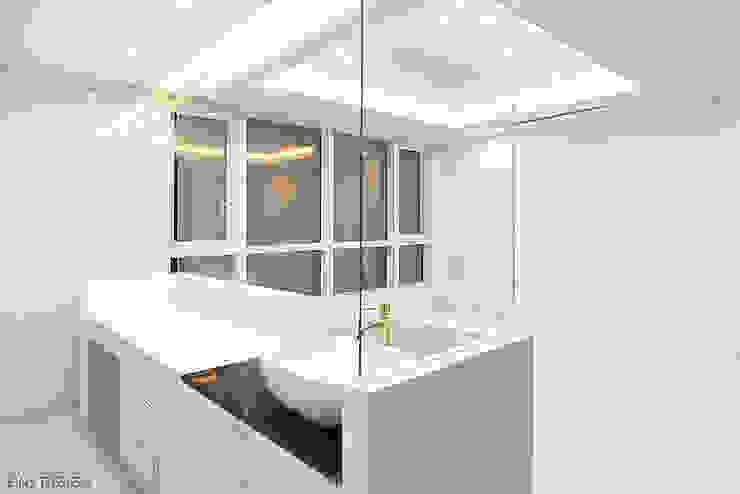 럭셔리 모던 컨셉 인테리어 모던스타일 미디어 룸 by 빈스디자인 모던