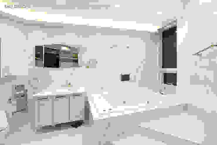 럭셔리 모던 컨셉 인테리어 클래식스타일 욕실 by 빈스디자인 클래식