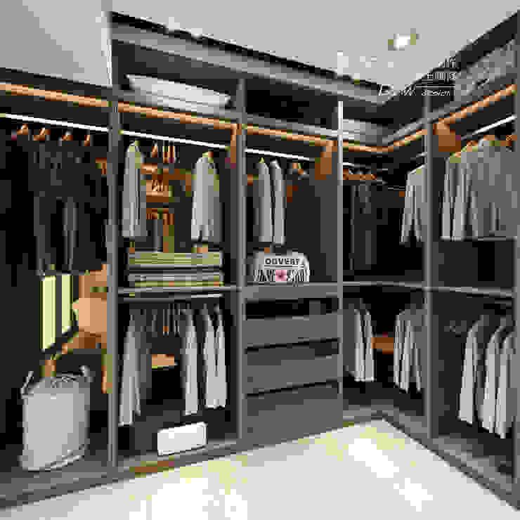 Dressing room by 木博士團隊/動念室內設計制作, Modern