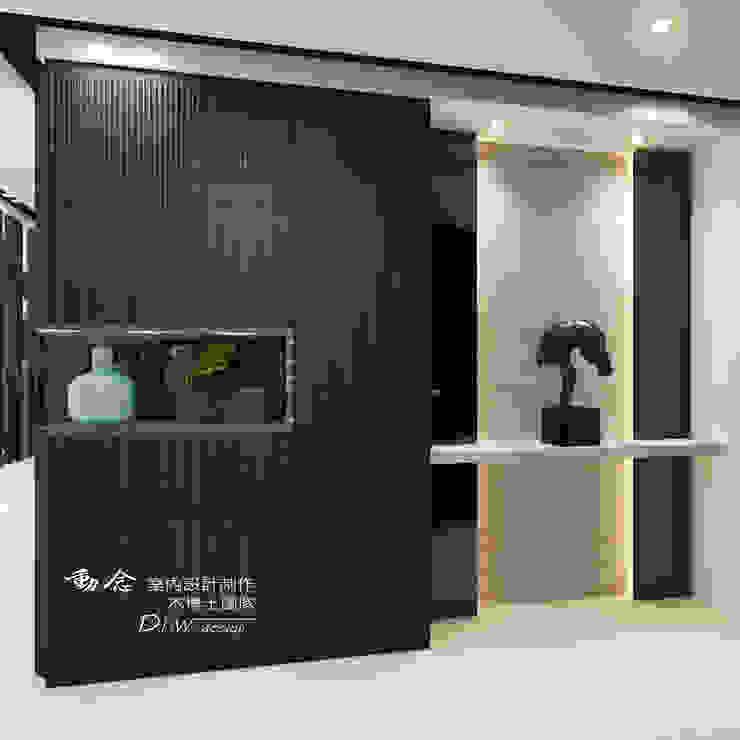 玄關區 根據 木博士團隊/動念室內設計制作 現代風