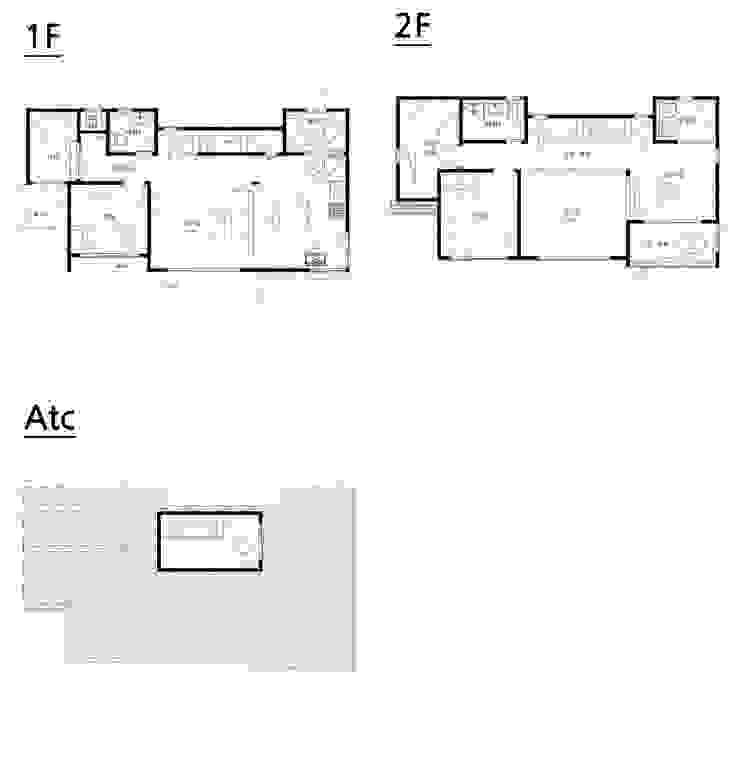 설계도면: 더존하우징의 현대 ,모던
