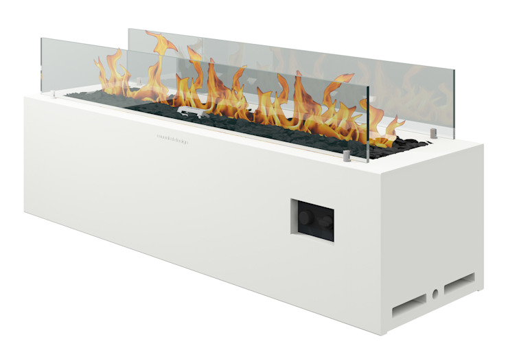現代  by muenkel design - Elektrokamine aus Großentaft, 現代風