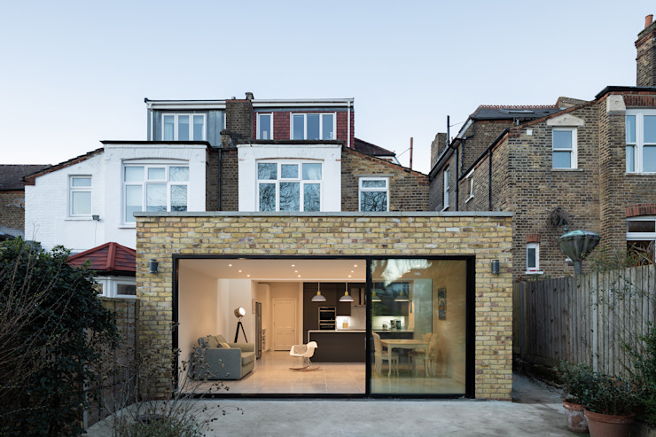 Victorian Semi House Extension by Rider Stirland Architects