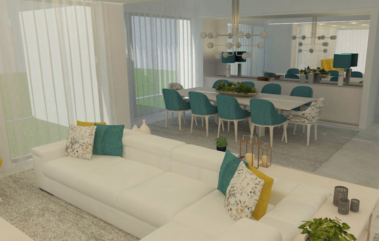 Modern living room by Casactiva Interiores Modern