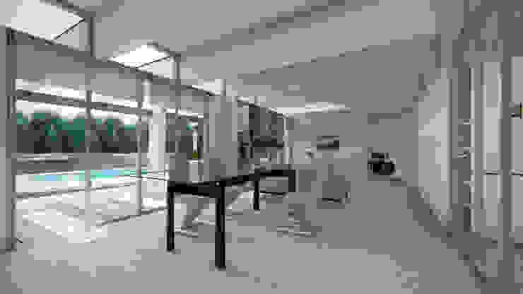Comedor Comedores de estilo minimalista de Sebastian Ginsberg Arquitecto Minimalista