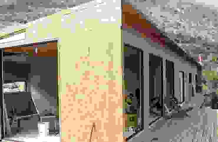 Vivienda de paneles sip, KIT ARMABLE de SIPCORDILLERA Minimalista Madera Acabado en madera