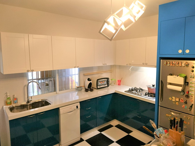 廚房 根據 ISQ 質の木系統家具