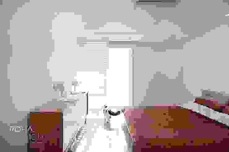 부산 전망 좋은 해운대 아파트 인테리어 모던스타일 미디어 룸 by 로하디자인 모던