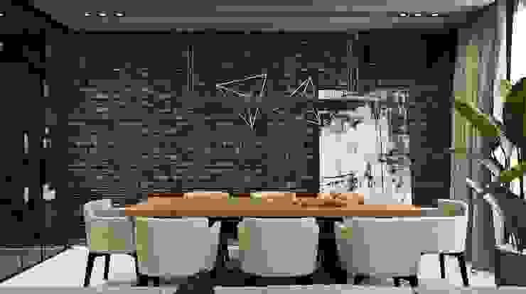 VANDER Гостиная в стиле минимализм от АРТ УГОЛ Студия архитектуры и дизайна Минимализм