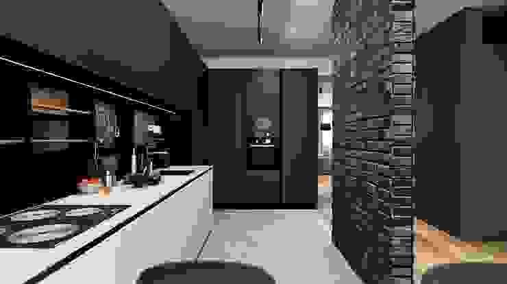 VANDER Кухня в стиле минимализм от АРТ УГОЛ Студия архитектуры и дизайна Минимализм