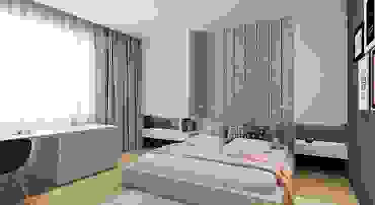 VANDER Спальня в стиле минимализм от АРТ УГОЛ Студия архитектуры и дизайна Минимализм