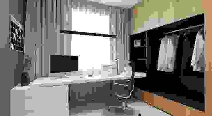 VANDER Рабочий кабинет в стиле минимализм от АРТ УГОЛ Студия архитектуры и дизайна Минимализм