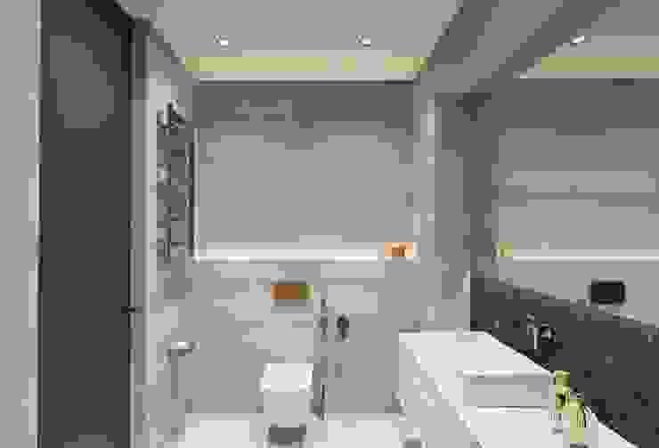 VANDER Ванная комната в стиле минимализм от АРТ УГОЛ Студия архитектуры и дизайна Минимализм